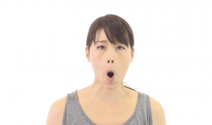 顔の筋肉 鍛える 顔ヨガ