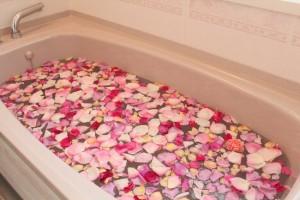 入浴剤 作り方 バラ風呂