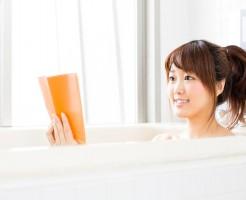 お風呂 アンチエイジング ぬるま湯 ゆっくり浸かる 半身浴 リラックス