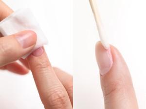 爪を守る 除光液 落とし方 擦らない コットン 綿棒